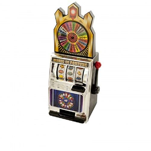 Imperial Home Slot Machine Coin Bank - Money Bank Mini Slot Machine - Toy Slot Machine Coin Bank for Kids & Adults