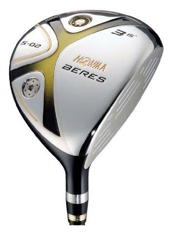 本間ゴルフ(HONMA Golf) フェアウェイウッド BERES ベレス S-02 AQ6-49 3Sグレード 3番 SR S-02 B00GT68I6C