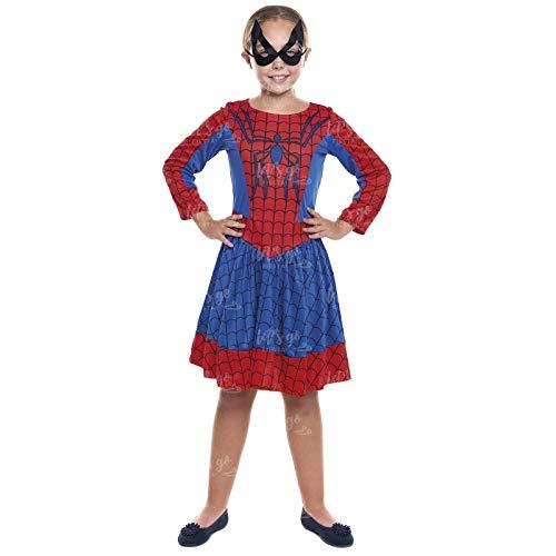 Disfraz Heroína Spider Arácnida Niña Disfraz Superhéroe Niña ...