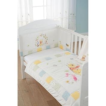 Winnie l\'Ourson 3 pièces Parure de lit de lit de bébé: Amazon.fr ...