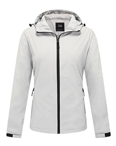 ZSHOW Women's Windproof Water and Sand Repellent Outer Jacket Lightweight UV Protection Skin - Jacket Light Mountain Boys