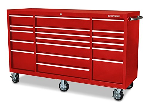 OEMTOOLS 24586 Red 72'' 16 Drawer Cabinet by OEMTOOLS