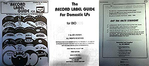 Record Label Guide for Domestic LPs [2nd printing]