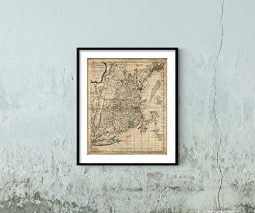 - 1776 Seat of war in England: Massachusets Bay, Hampshire,Connecticut & Rhode Island 20