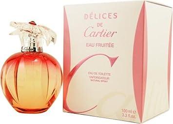 Cartier Délices Toilette Vaporisateur De Eau Fruitée thQrsCd