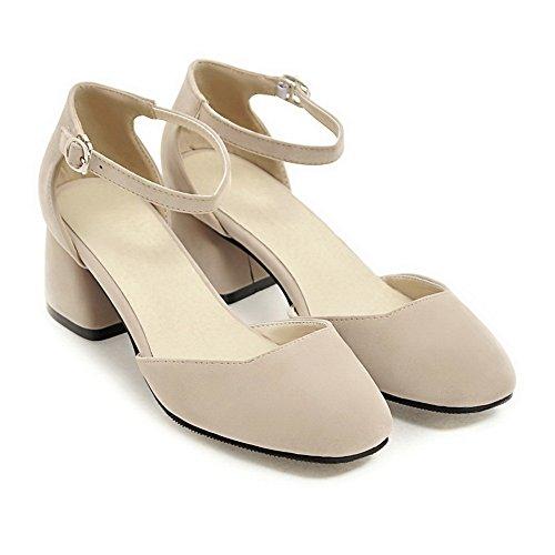 Beige 5 Sandales Femme BalaMasa Beige 36 Compensées EU qB7xT