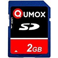 2pcs pack QUMOX 2GB 2048MB SD memory card for camera phone mp3 mp4 fm transmitter