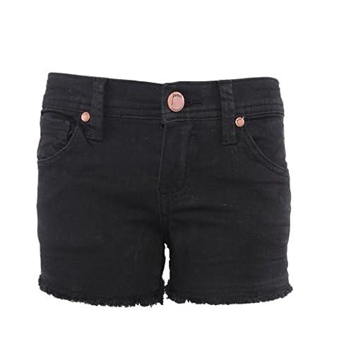 Pinc Premium Big Girls' Tuxedo Tie Dye Short 4 Black (Pinc Premium Toddler)