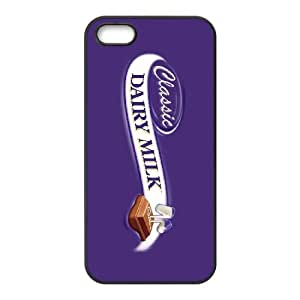 iPhone 4 4s Cell Phone Case Black Dairy Milk goxn