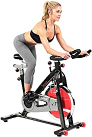 Sunny Health & Fitness Belt Drive Indoor Cycling Bike, 22 KG Flyw