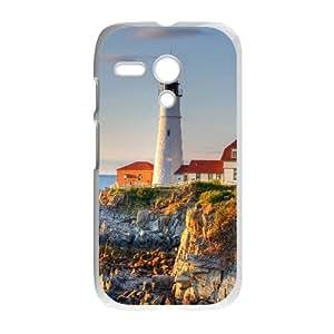 Motorola G phone cases White Lighthouse fashion cell phone cases YRTE0205140