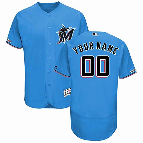 Personalized Baseball Uniform, Any Number and Name Suitable for Men and Women Youth-Design Your Personal Jersey ()