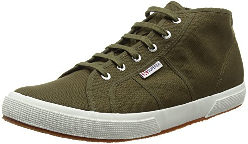 Superga Unisex-Erwachsene 2754 Cotu High-Top Grün (595 Military Green)