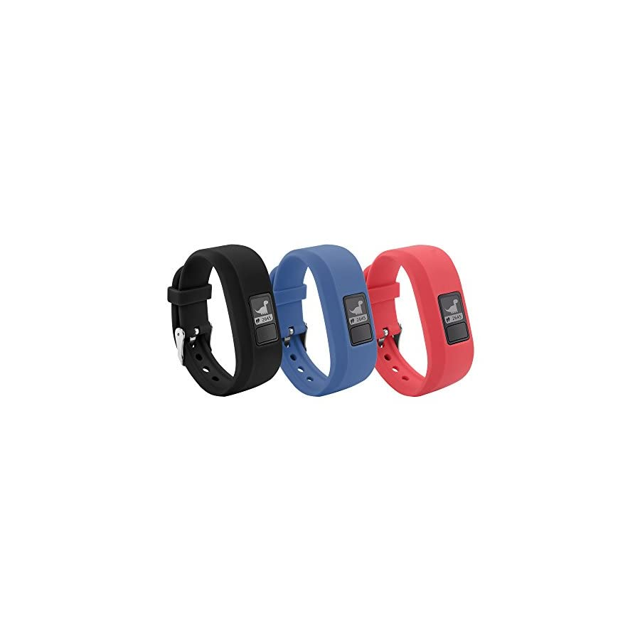 BeneStellar 12 Colors Garmin Vivofit JR Bands with Secure Watch Clasp Silicone Replacement Bands for Garmin Vivofit JR (for Kids)