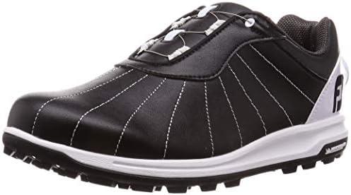 ゴルフシューズ FJ TREADS Boa メンズ ブラック/ホワイト (19) 25.0 cm 3E 56215J