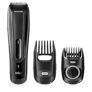 Braun BT5070 – Recortadora de barba con ajuste fino cada 0,5mm: precisión para un estilo deseado, color negro