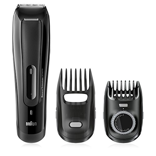Braun BT5070 Men's Beard Trimmer, Cordless & Rechargeable, Black by Braun