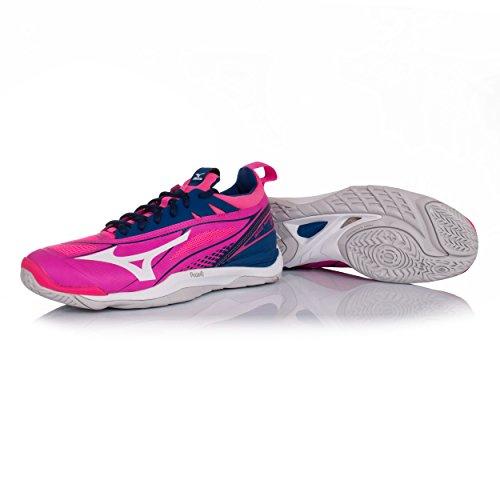 Kvinders Luftspejling Pink Basketball Mizuno Aw17 2 Sko axgRRqvw
