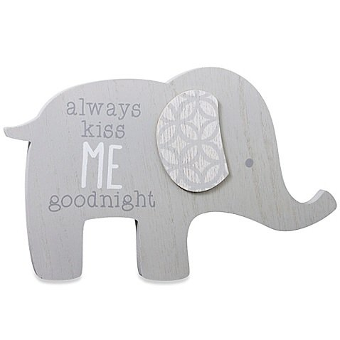 Wendy Bellissimo Mix & Match Elephant Wall Plaque