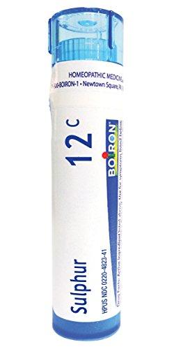 (Boiron Sulphur 12C, 80 Pellets, Homeopathic Medicine for Skin Rash)
