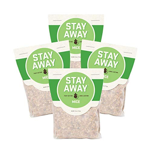 Stay Away Mice Repellent Pest Control Scent Pouches, All Nat