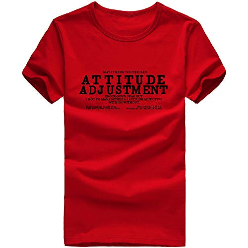 (Pottseth T-Shirts Mens Fashion Casual Front Placket Basic Long/Short Sleeve T-Shirts)
