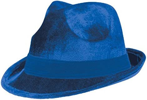 Amscan Velour Fedora Gold Party Accessory