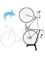 Qualward Bicycle Stand Upright Design Space Saving for Living Room