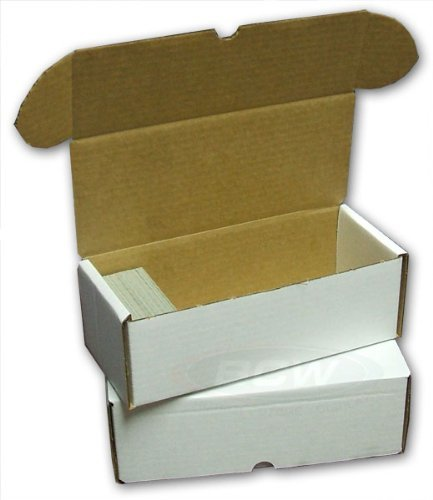 BCW 500 Count Box (2 Boxes) (500 Ct Box)