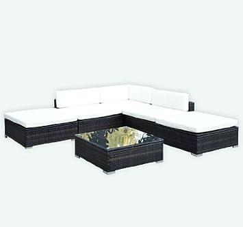 Poly Rattan Lounge Gartenmöbel Loungeset 15 Tlg. Gartenset Polyrattanmöbel  Loungemöbel Inkl. Kissen Alu+