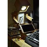 Lámpara de Robot de madera