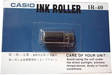 Black FJA Products Compatible 2 pack for Casio HR-8TE Plus and HR-8TM Plus Calculator Ink Roller