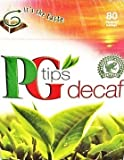 PG Tips Pyramid Tea Bags Decaf, 80-Count Tea Bags (Pack of 3)