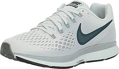 Nike WMNS Air Zoom Pegasus 34 880560 008 Barely Grey/Deep Jungle Women's Running Shoes (9)