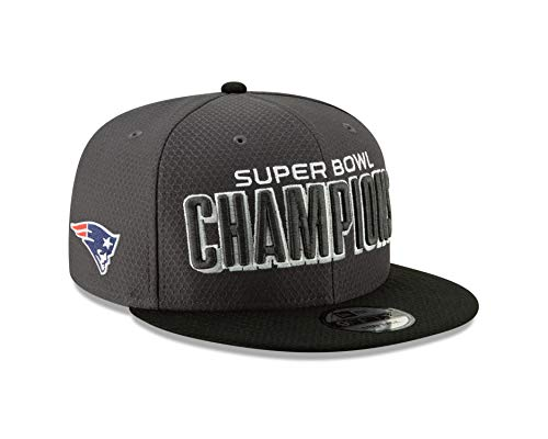 New Era New England Patriots Super Bowl Llll Champions Parade Snapback 9Fifty Hat - Graphite