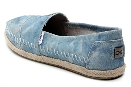 Toms Womens Classic Blue Washed Suede (8.5)