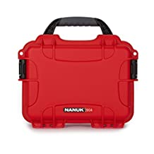 Nanuk 904 Waterproof Hard Case Empty - Red