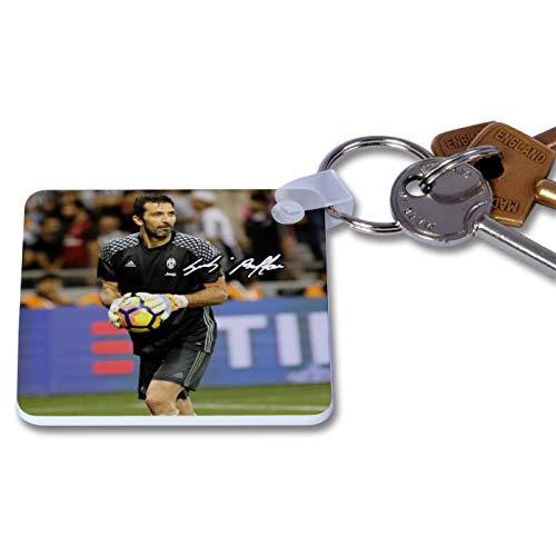 Gianluigi Buffon - Juventus 1 Novelty Keyring Printed Autographed ...