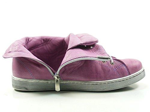 Andrea Donne Conti High-top Sneaker 0341500 Lace Up Stivali-viola