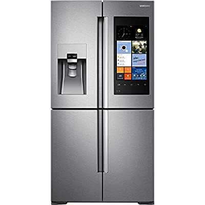 """RF28K9580SR 36"""" Energy Star Freestanding French Door Refrigerator with 27.9 cu. ft. Capacity, Family Hub in Stainless Steel"""
