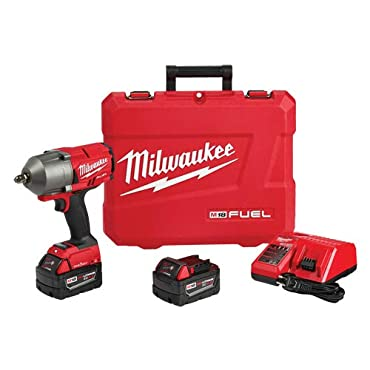 Milwaukee 2862-22 M18 FUEL ONE-KEY High Torque Impact 1/2 in. Pin Detent