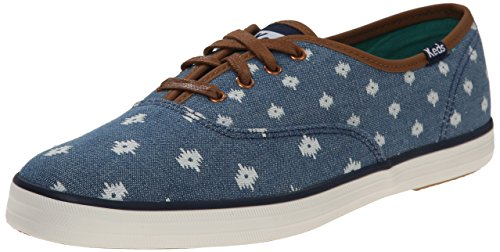 Keds Women's Champion Native Dot Fashion Sneaker,Indigo,8.5 M US (Fashion Dot Sneaker)
