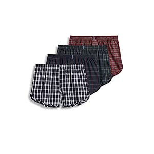 Jockey Men's Underwear Tapered Boxer – 4 Pack