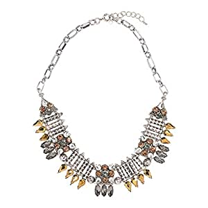 Just Showoff Women's Alloy Spike Necklace