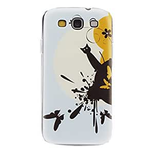 Curious Kitten Pattern Hard Case for Samsung Galaxy S3 I9300
