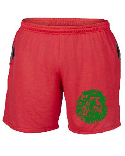 Pantaloncini Cameroon Wc0154 Tuta shirtshock Rosso T CYxqv5AwR