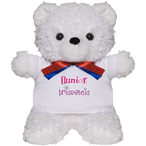CafePress - Junior Bridesmaid - Teddy Bear, Plush Stuffed ()
