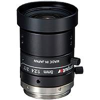 Computar M0824-MPW2 2/3 8mm F2.4 Manual Iris C-Mount Lens, 5-Megapixel, Ultra Low Distortion