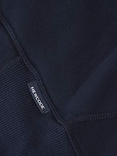 Polsini Manica Cappuccio Felpa Cotone Con Newcode Chiusura Modello 100 Zip Lunga 88 Elasticizzati xRaxBqP