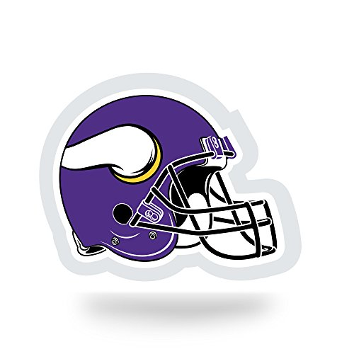 NFL Minnesota Vikings  Team Tattoo, Purple, White, Black, 5-inches by 3.5-inches by 0.2-inch -